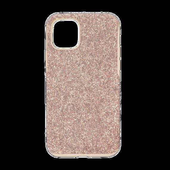حافظة High للهاتف الذكي بحواف مضادة للصدمات، iPhone® 12 mini، لون وردي