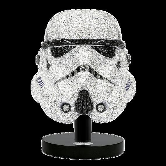 قطعة زينة بتصميم خوذة Stormtrooper، إصدار محدود من ستار وورز