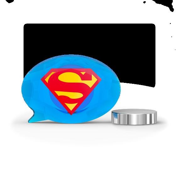 مغناطيس بشعار سوبرمان من دي سي كومكس