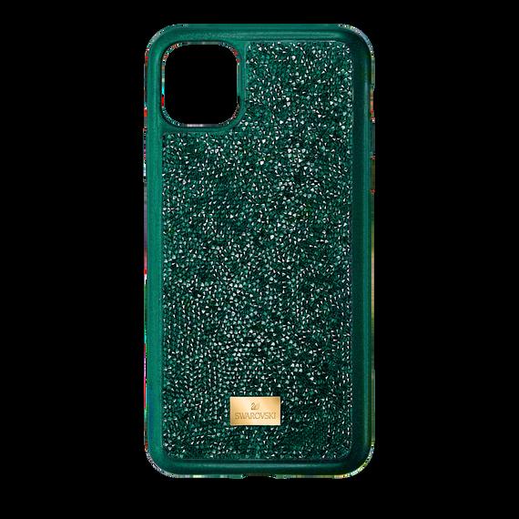 حافظة Glam Rock للهاتف الذكي بحواف مضادة للصدمات، iPhone® 11 Pro Max، لون أخضر