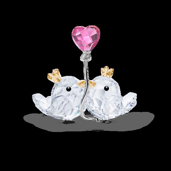 قطعة زينة على شكل عصافير الحب