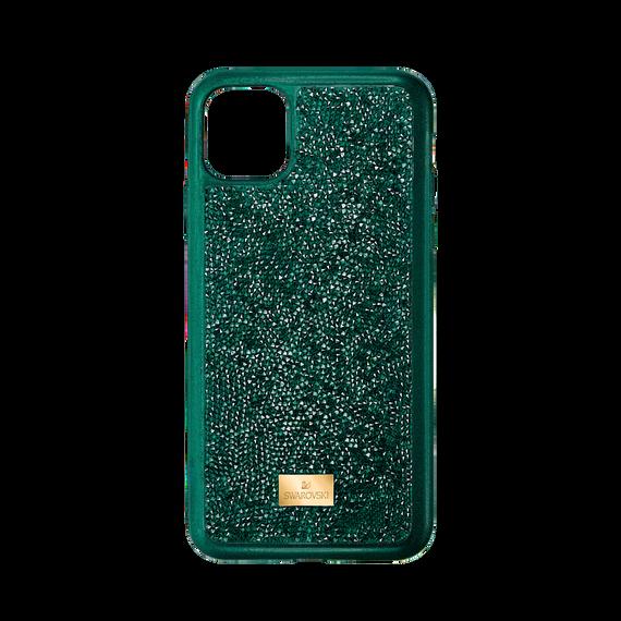 حافظة Glam Rock للهاتف الذكي بحواف مضادة للصدمات، iPhone® 11 Pro، لون أخضر