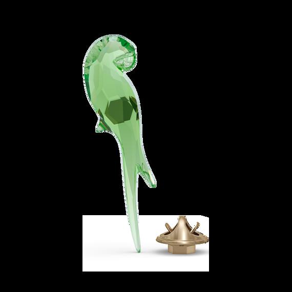 مغناطيس بتصميم ببغاء من Jungle Beats، لون أخضر، حجم صغير