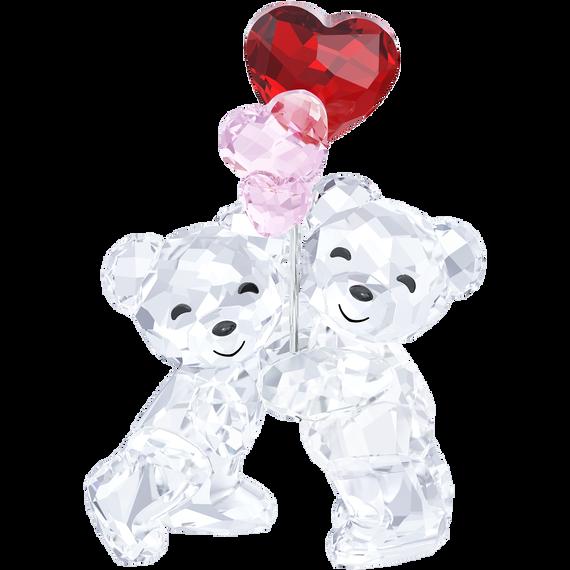 قطعة زينة على شكل الدب Kris – بالونات على شكل قلب